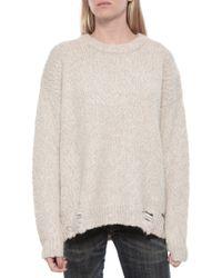 Raquel Allegra Over Sized Sweater gray - Lyst
