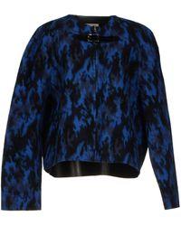 Christopher Kane Blue Jacket - Lyst
