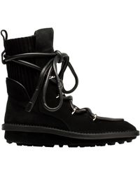 Balenciaga Snow Lace Up Boots - Lyst