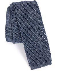 Maker & Company - Knit Cotton Tie - Lyst