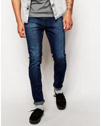 Cheap Monday Tight Skinny Jeans in Dark Indigo - Lyst