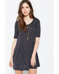 Cooperative - Cozy Trapeze Swing Dress - Lyst
