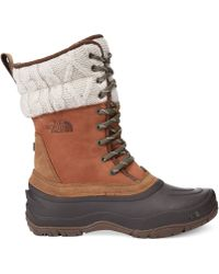 The North Face Womens Shellista Boots - Lyst