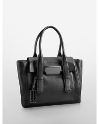 Furla Black Pebbled Leather 'Taormina' Shoulder Bag 38