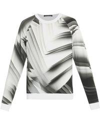 Christopher Kane Paper-print Sweatshirt - Lyst