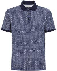 Hugo Boss Geo Print Polo Shirt - Lyst