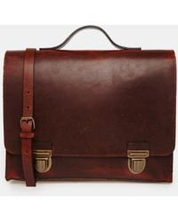 Royal Republiq - Heritage College Leather Satchel - Lyst