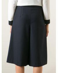 Kai-aakmann - Knee Length Pleated Shorts - Lyst