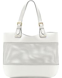 Vince Camuto Perforated Tote - Lyst
