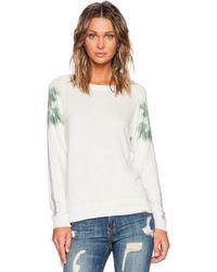 All Things Fabulous - Print-Detail Jersey Sweatshirt - Lyst
