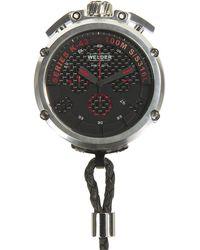 Welder K-43 Chronograph Pocket Watch - Metallic