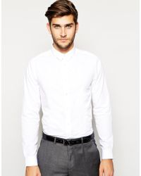 Asos Smart Shirt In Long Sleeve - Lyst