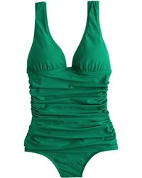 J.Crew D-Cup Ruched Femme One-Piece Swimsuit - Lyst