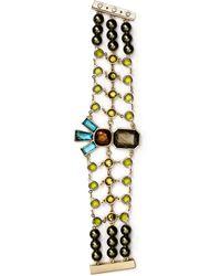 Sam Edelman - Stone Mesh Bracelet - Lyst