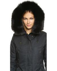 Spiewak - N3 B Fox Fur Trim Parka - Lyst
