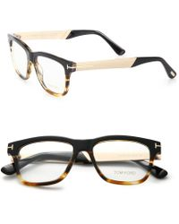 Tom Ford   Square Optical Glasses   Lyst