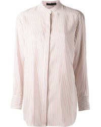The Row Madison Striped Shirt - Lyst