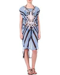 Clover Canyon Striped Sculpture Coverup Multi - Lyst