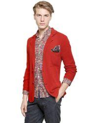 Tonello - Cotton Knit Jacket - Lyst