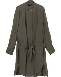 Isabel Marant Carla Georgette Shirt Dress - Lyst