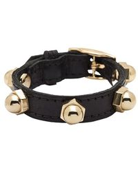 CC Skye Bolt Wrap Leather Bracelet - Lyst