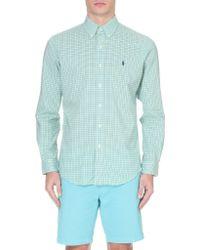 Ralph Lauren Check-print Cotton Shirt - Lyst