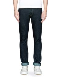 Valentino Slim Fit Jeans - Lyst