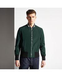 Bally Nylon Varsity Jacket - Lyst