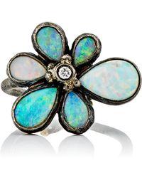Judy Geib - Women's Wildflower Ring - Lyst