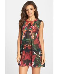 Ted Baker 'Tropical Toucan' Cover-Up Tunic - Lyst