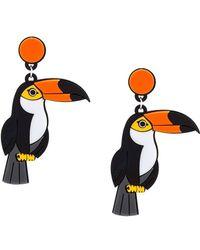 Yazbukey - 'toucan' Earrings - Lyst