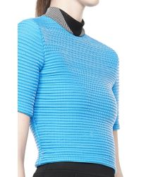 Alexander Wang Cropped Cycling Tee - Lyst