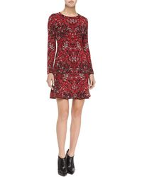 M Missoni Marbleprint Dress W Flip Skirt - Lyst