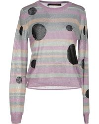 Sister by Sibling Sweater - Purple