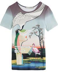 Mary Katrantzou Printed T-Shirt - Lyst