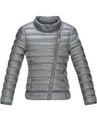 Moncler Amy Asymmetric-Front Quilted Jacket - Lyst