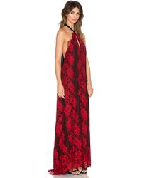 Alexis Ruby Gown - Red
