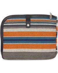 TOMS Multi Stripe Canvas Sidetrack Tablet Case
