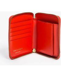 Comme des Garçons Classic Full Zip Wallet red - Lyst