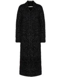 Jonathan Simkhai - Bouclé-knit Coat - Lyst
