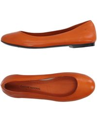 Costume National | Ballet Flats | Lyst