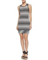 Missoni Mare Sleeveless Zig Zag Mini Dress - Lyst