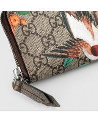 Gucci - Tian Gg Supreme Key Case - Lyst