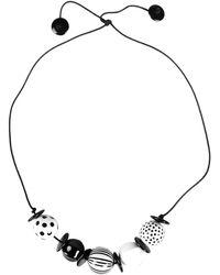 Stefanel Necklace - Black