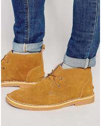 Bellfield | Chukka Boots In Suede | Lyst