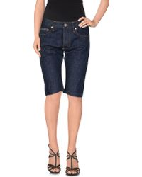 Cheap Monday | Denim Bermudas | Lyst