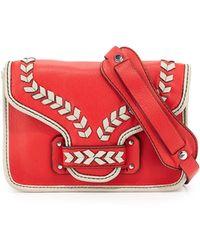 orYANY Reilly Leather Crossbody Bag - Lyst