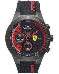 Scuderia Ferrari - 'redrev Evo' Chronograph Watch - Lyst