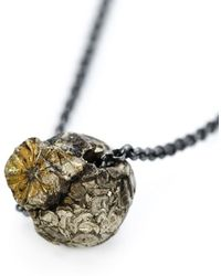 Dosa | Pyrite Necklace | Lyst