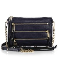 Rebecca Minkoff Mini 5 Zip Convertible Crossbody Bag - Lyst